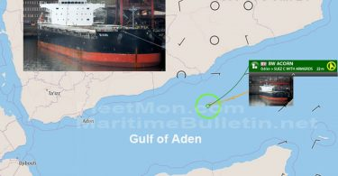 BW Bulker Catches Fire in Gulf of Aden