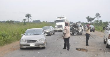 1 dies, 4 injured in multiple accident on Abeokuta-Lagos expressway