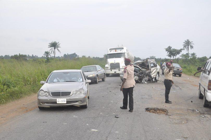1 dies, 4 injured in multiple accident on Abeokuta-Lagos expressway