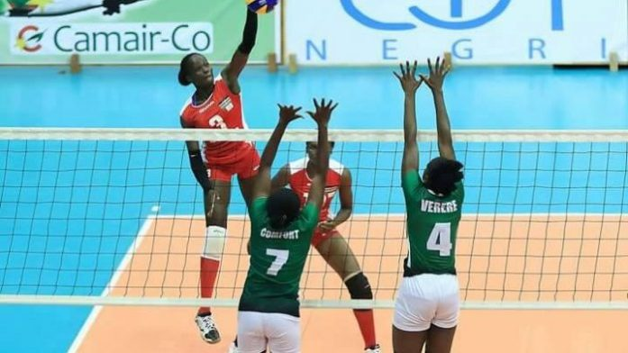 Team Nigeria records first win at 2020 Olympic's volleyball qualifiers
