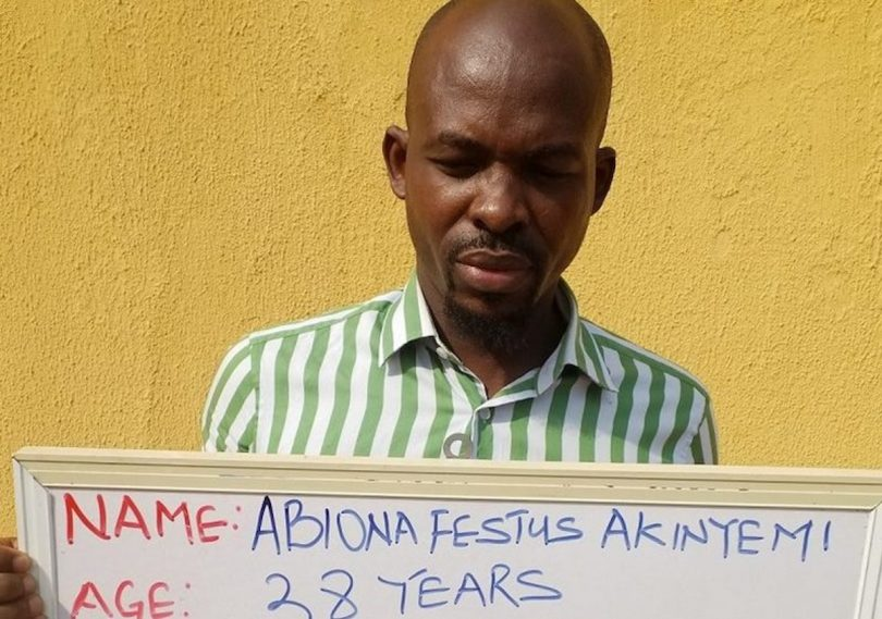 ABIONA: EFCC arrests wanted FBI suspect at Arepo