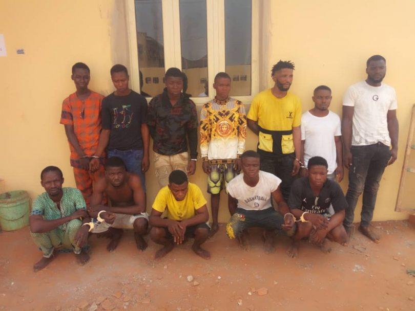 Pandemonium as Cultists battle for supremacy, in Ijora, Ikorodu; 17 arrested
