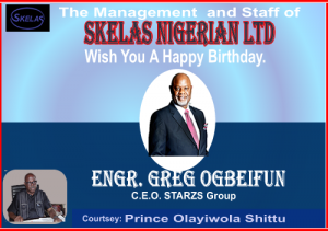 OGBEIFUN: Shittu Joins Global community in Birthday Felicitations!