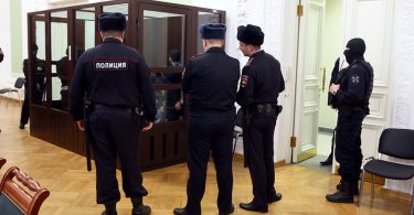 Russian ex-prison official kills self in court after being sentenced