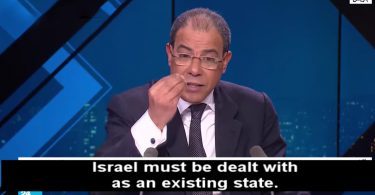 'The Arab way of thinking towards Israel has become archaic'
