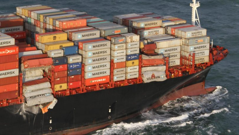 OOCL Rauma Loses Containers off Dutch Coast