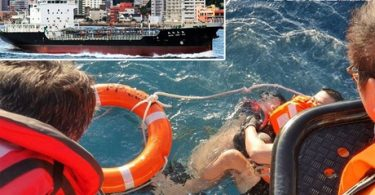 Horrific mortal accident: Seaman Ladder rope chops off tanker Seaman's hands