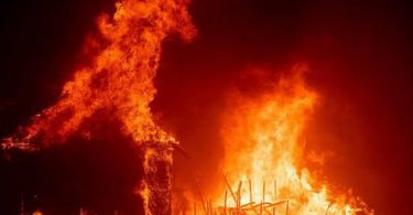 One dies as fire razes house in Modakeke