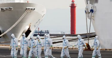Three Israelis test positive for coronavirus on quarantined vessel