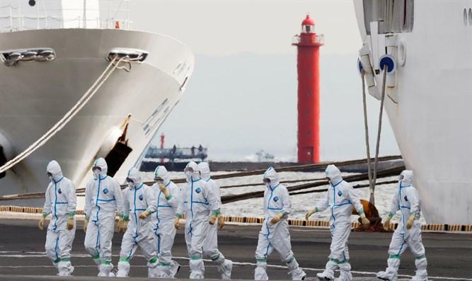 Three Israelis test positive for coronavirus on quarantined vessel