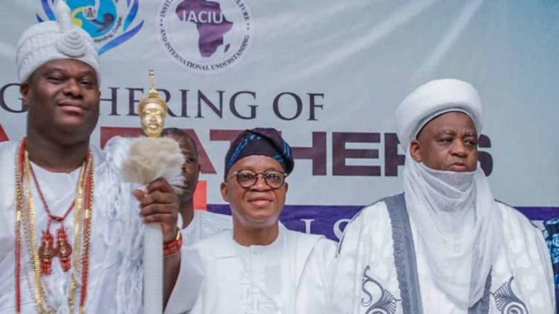 Oyetola, Ooni, Sultan urge holistic approach against insecurity