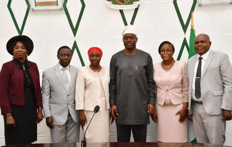 Gov. Makinde inaugurates 5 Permanent Secretaries