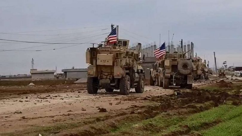 US forces come under fire while on patrol in Syria