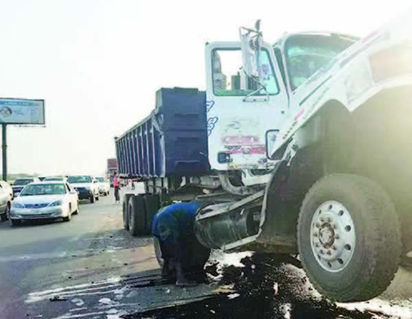 FRSC confirms 3 dead as tipper rams into tricycle in Yenagoa