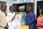 AFOLABI: SAHCO Chairman, installed as CPEF Grand Patron