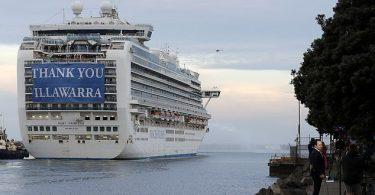 Ruby Princess cruise ship finally leaves Australia