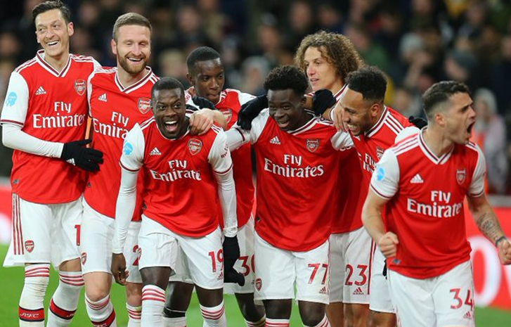 Arsenal announce 12.5% pay cuts for players, coaching staff