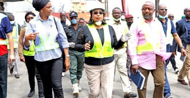 NPA: When MD Tours Ports in Lagos