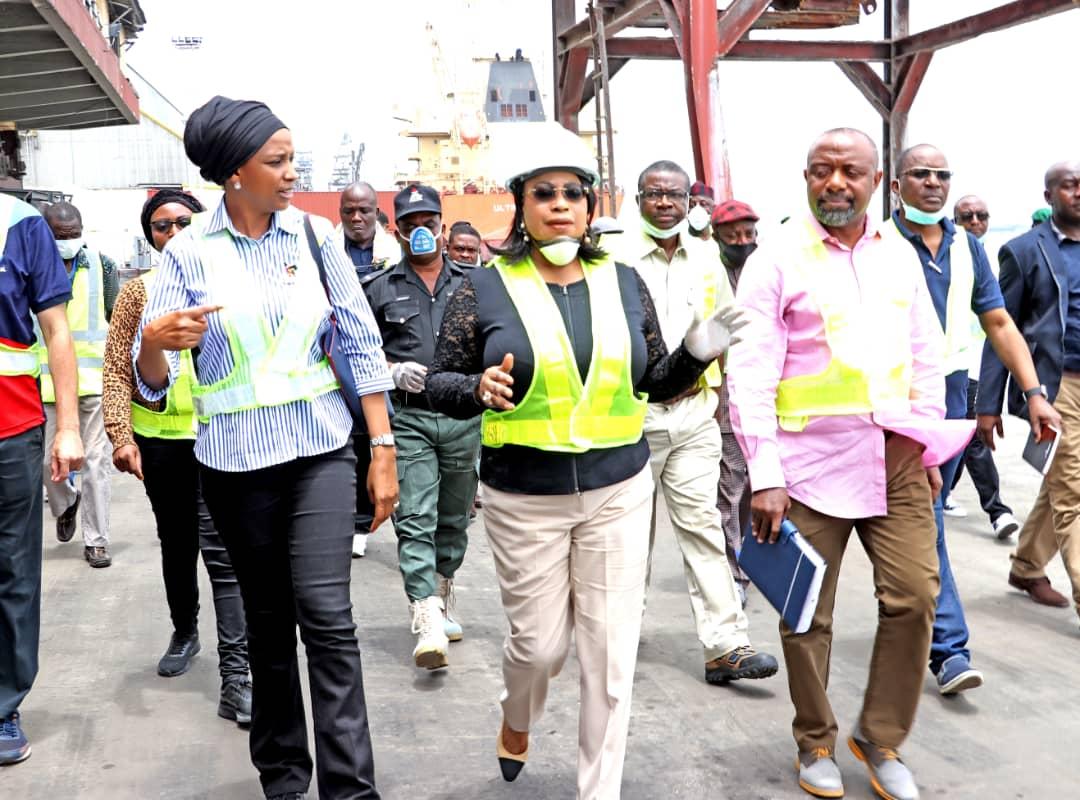 NPA: When MD Tours Ports in Lagos