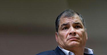 Ecuador's former President, Correa sentenced to 8 yrs in prison