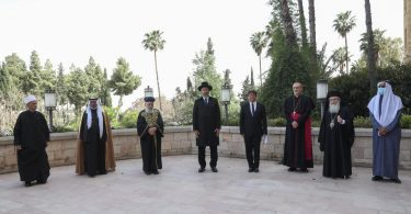 Spiritual War Begins: Leaders from different faiths gather in Jerusalem for joint prayer against COVID-19