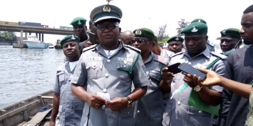 Customs Western Marine destroys Cannabis Sativa worth N1.0 billion