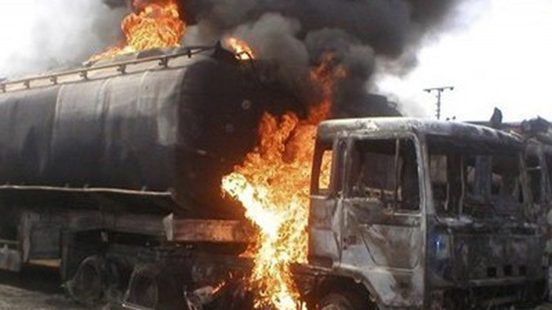 Tanker explosion kills 2 in Ibadan