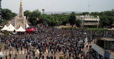 Malians rally against President Keita, demand his resignation