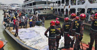 32 drown, following passenger ferry mishap in Bangladeshi river