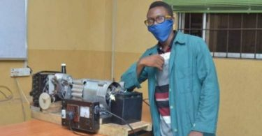 Nwojoyi: Gregory varsity student designs hybrid fuel-less power generator