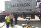 6 die as container falls on vehicles in Anambra