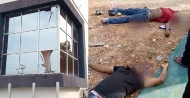 ISANLU: Robbers descend on Kogi bank, killing 8 Policemen, one civilian