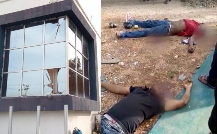ISANLU: Robbers descend on Kogi bank, killing 8 Policemen, one civilian