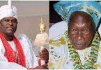 OONI: Ogunwusi's grandmother dies at 103