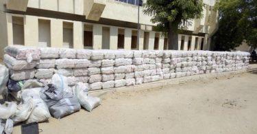 NDLEA intercepts 3.136 tonnes of Cannabis Sativa in Kogi
