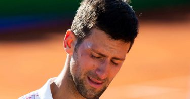 Djokovic breaks down in tears after hosting Belgrade tennis exhibition