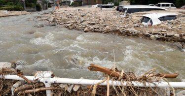 20 die, 14 missing after torrential rains batter south-western Japan