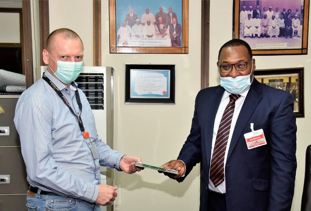 Hassan Bello commends APMT over acquisition of new cargo handling equipment