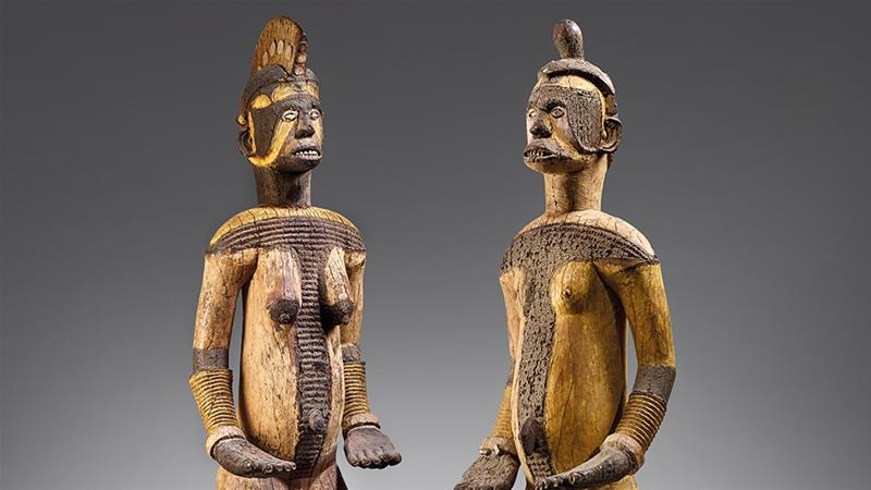 Nigeria statues auctioned in Paris in spite protests