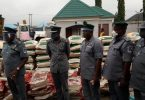 NCS FOU Owerri, intercepts granite tipper, loaded with foreign rice