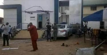 Explosion injures 2 in bank premises in Oyo