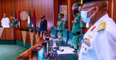 Insecurity: Rejig Your Strategies! Buhari tells Security Chiefs