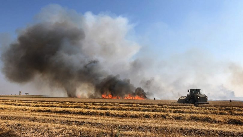 Israel strikes Hamas site in Gaza following surge of incendiary balloons