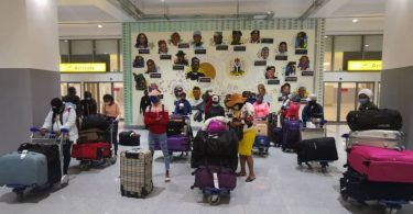 27 stranded Nigerian girls evacuated from Lebanon arrive Abuja