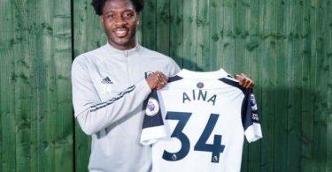 Super Eagles' Aina joins Fulham on season-long loan