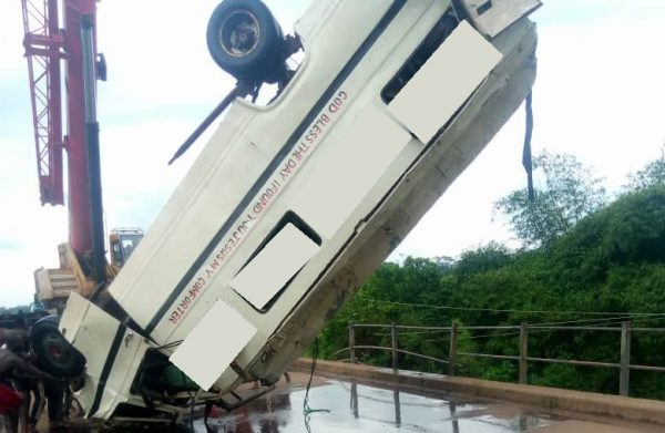 Ebonyi bus accident: FRSC, Police confirm 3 more bodies retrieved from river