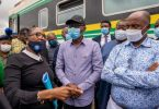 Amaechi, Sanwo-Olu visit train accident scene in Oshodi which killed father, son