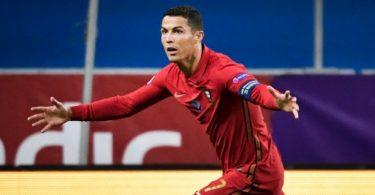 Ronaldo scores 100th goal for Portugal