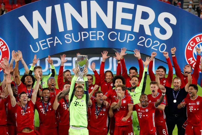 Bayern Munich complete quadruple with Super Cup win over Sevilla