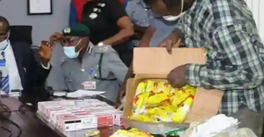 Customs nabs suspect with 2,886 ATM cards, concealed in noodles carton